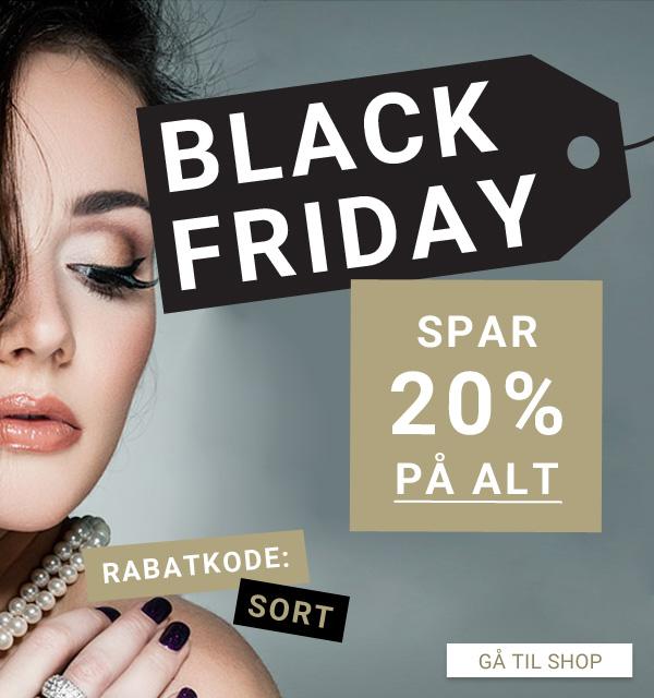 Spar mindst 20% til Black Friday på smykker og ure
