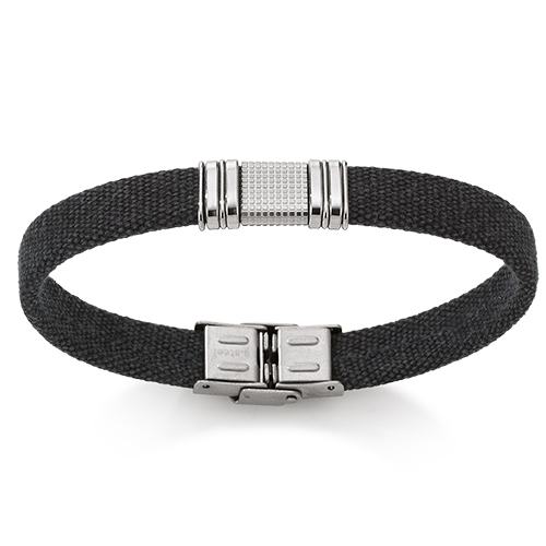 Cancas armbånd med stållås - 07103617-21 21 centimeter