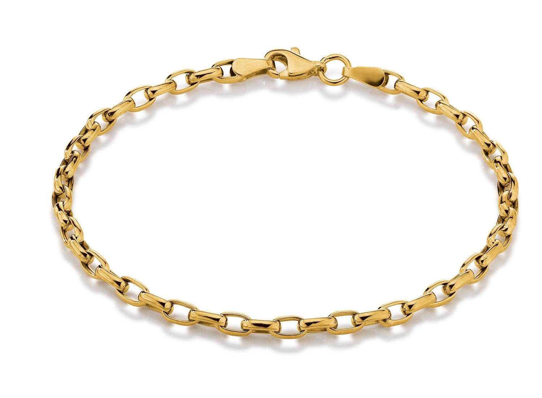 Aagaard 8 kt armbånd - 08103637-18 18 centimeter