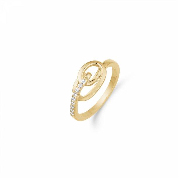 Aagaard 8 kt ring - 08623090-75
