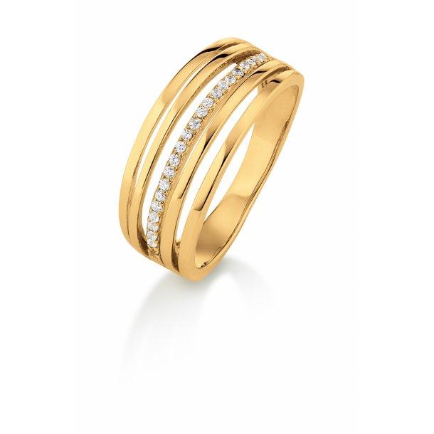 Aagaard 8 kt ring  - 08623882-75