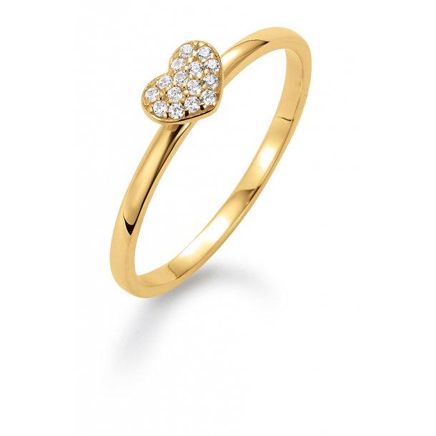 Aagaard 8 kt ring - 08623957-75