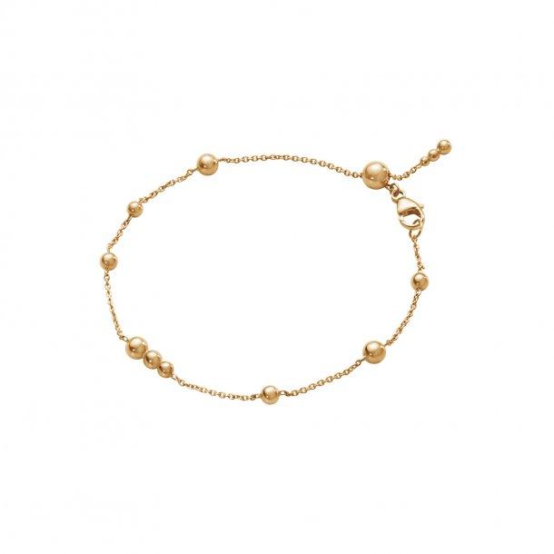 Georg Jensen Grape armbånd 18 kt rosa guld - 10013673