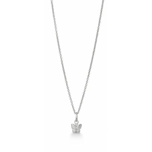 Aagaard Sølv vedhæng med kæde - 11303810-38