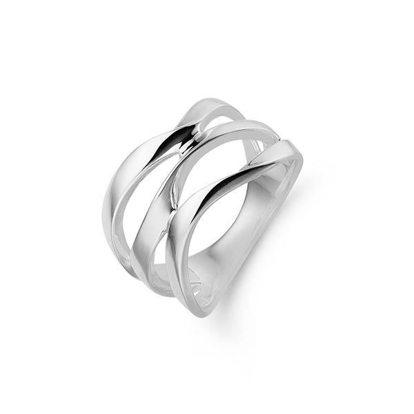 aagaard Aag sølv ring, 11613330 sølv 56 på brodersen + kobborg