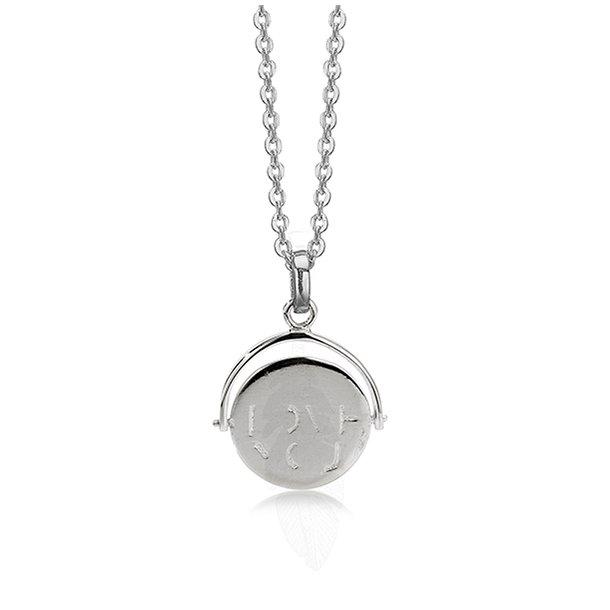 AAGAARD sølv vedhæng I  Love You - 1181092V