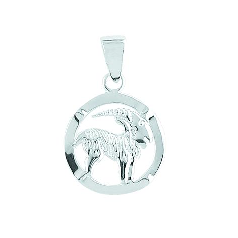 Aagaard stenbuk sølv vedhæng - 1181120-12 fra aagaard på brodersen + kobborg