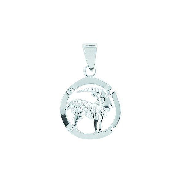 AAGAARD Stenbuk sølv vedhæng - 1181120-12