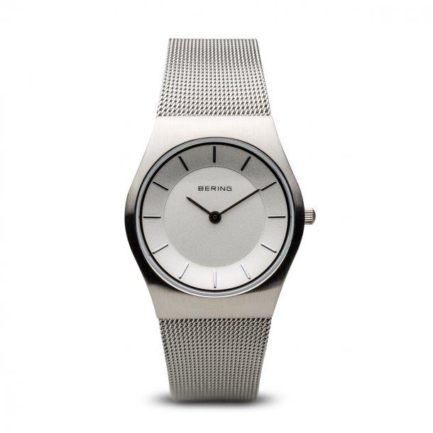 Bering ur i børstet stål - 11935-000