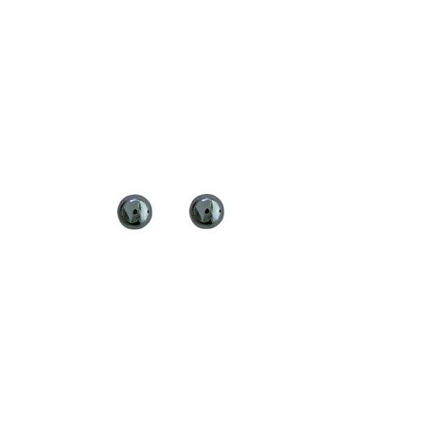 Aagaard Sølv ørestikker med hæmatit - 1193604-24