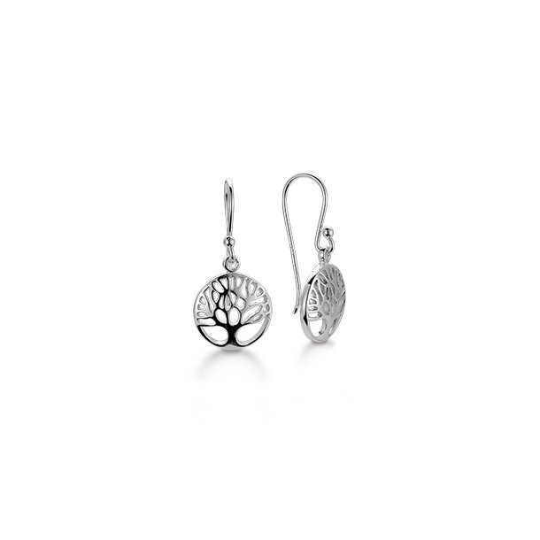 AAGAARD sølv ørehænger Livets Træ - 11963769
