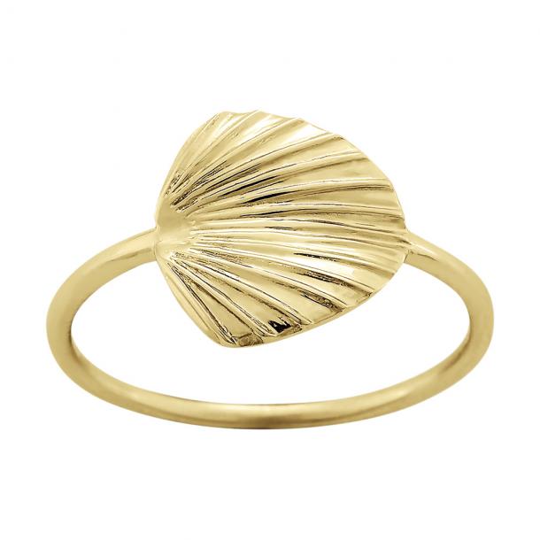 Forgyldt sølv ring Licuala - 125 298-3