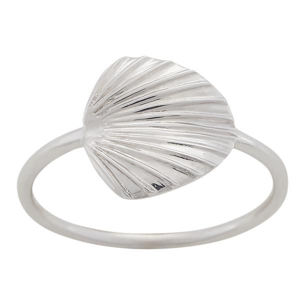 Rhodineret sølv ring Licuala - 125 298