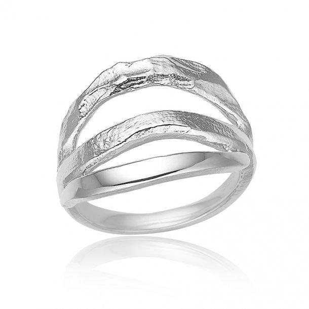 Blicher Fuglsang Sølv ring - 1325-00R