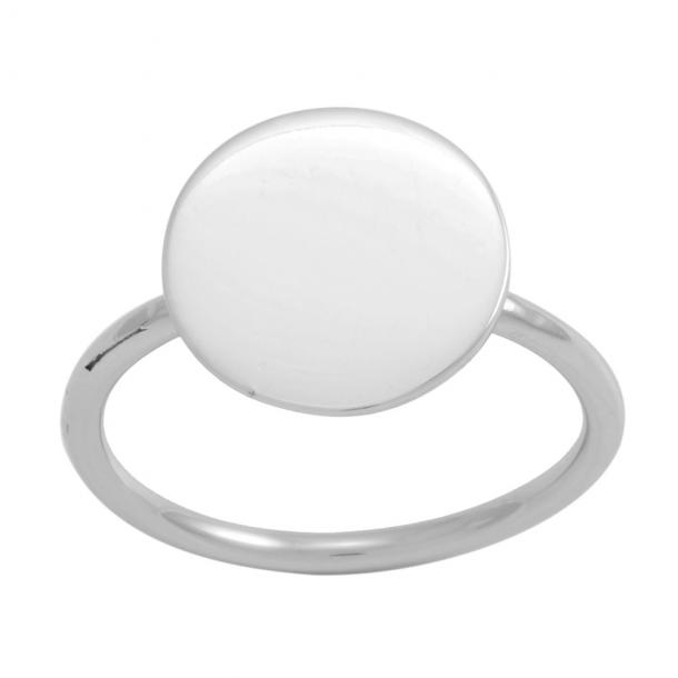 Rhodineret sølv ring Flash - 133 000