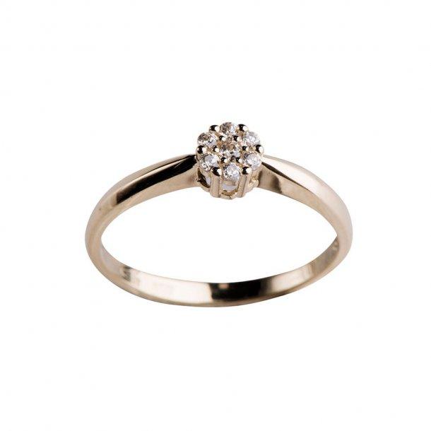 8 kr ring med zirkonia - 142 1346CZ5