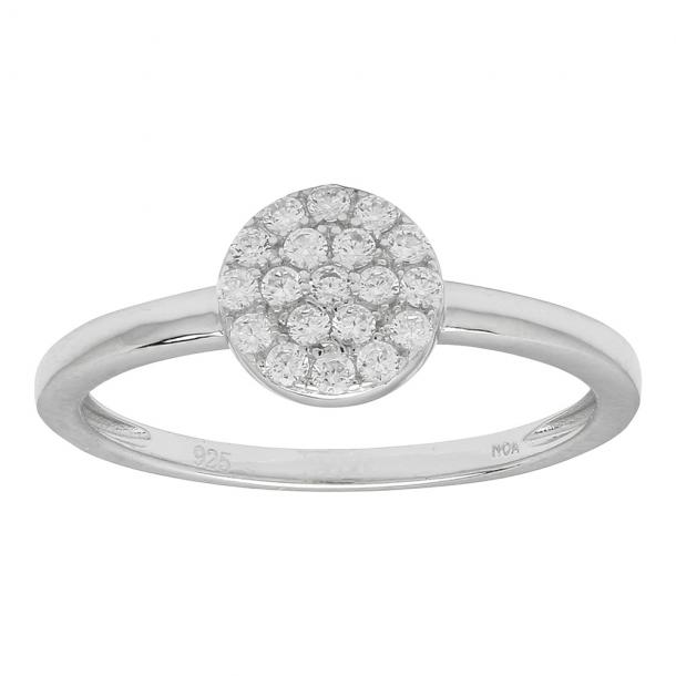 Joanli Nor rhodineret sølv ring - 145 047