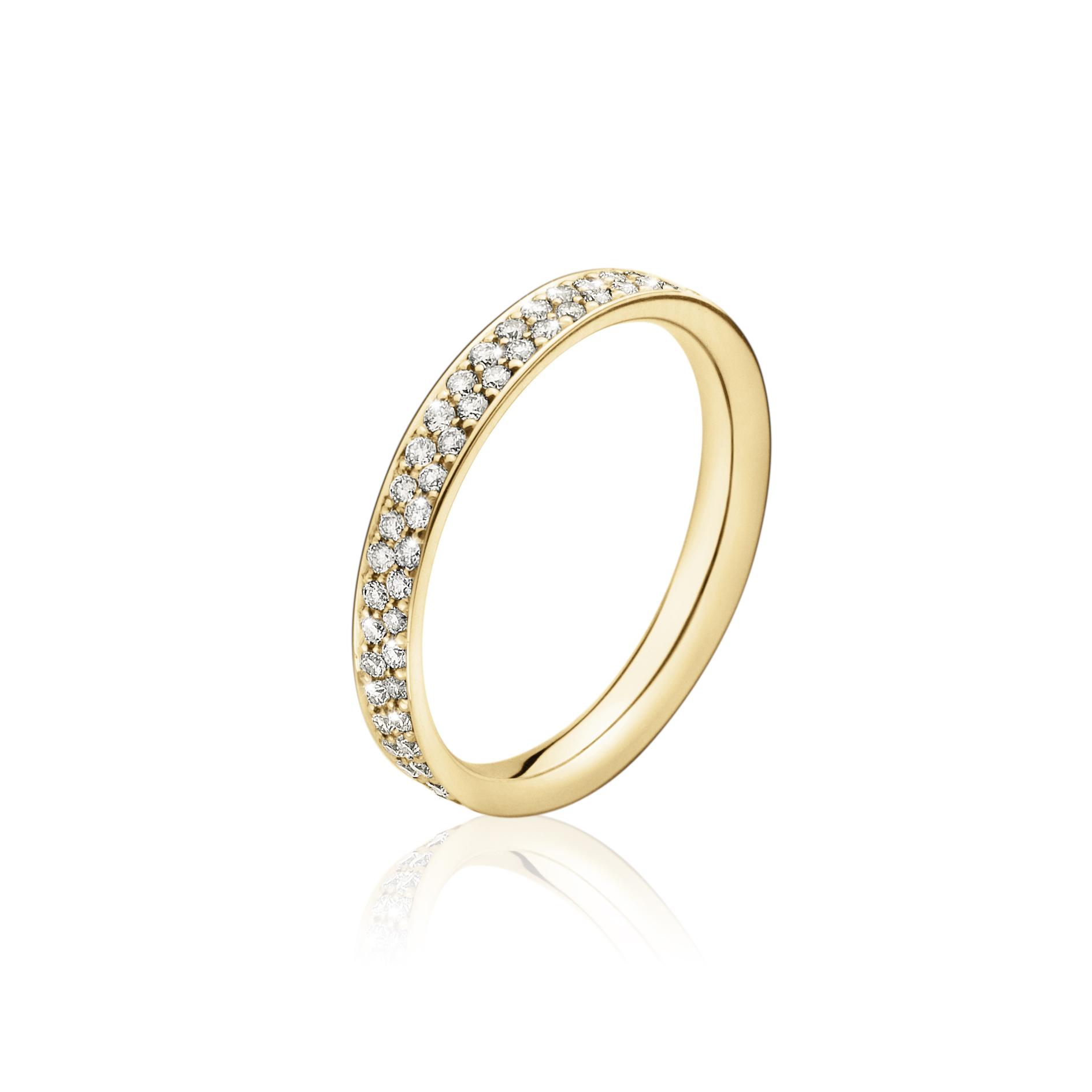 Georg Jensen Magic ring guld - 20000284 18 kt rdg / 0,52 ct 53