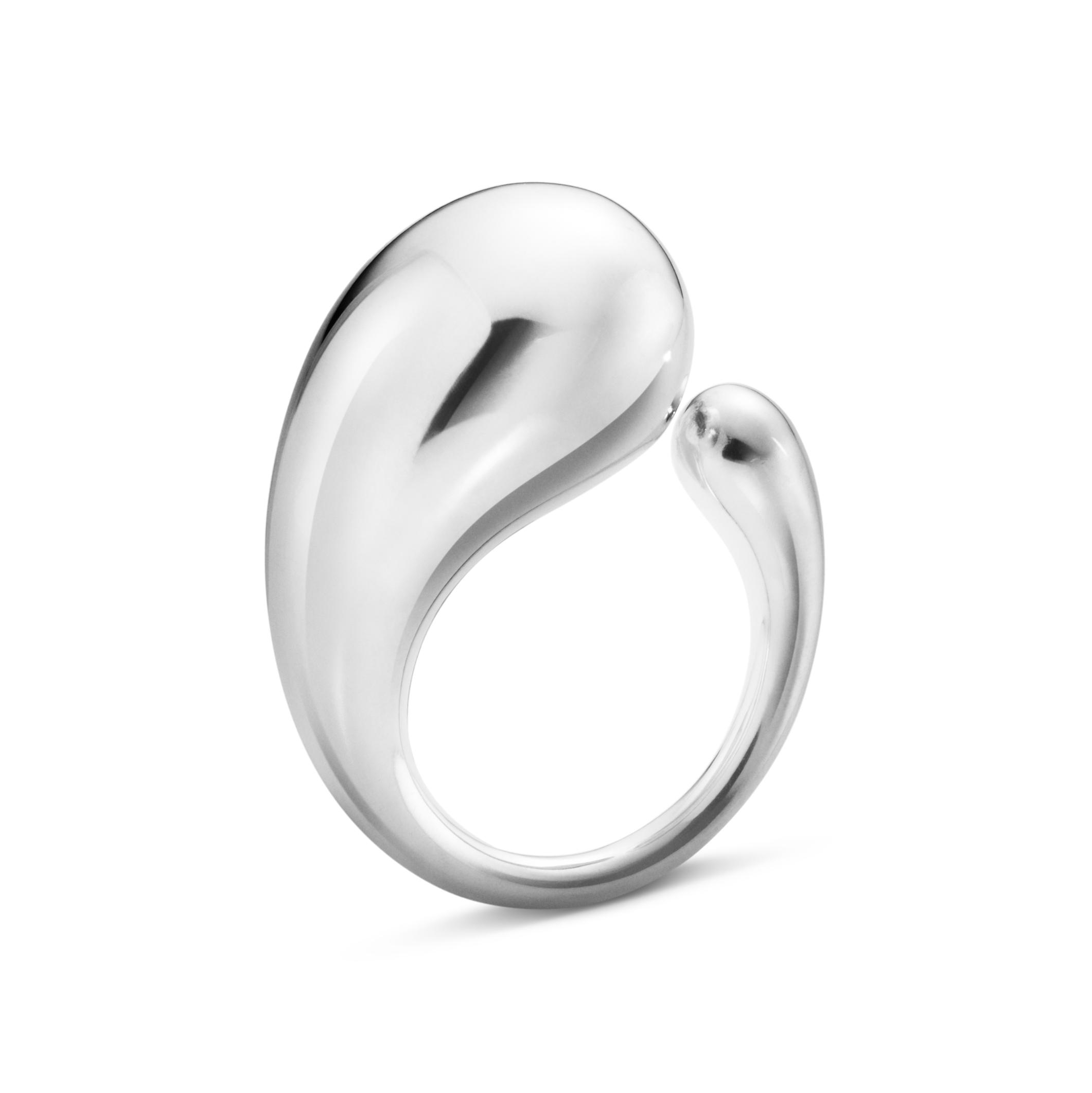 georg jensen - smykker – Georg jensen mega mercy ring - 2000064500 200006450055 sølv 55 på brodersen + kobborg