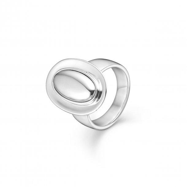 Sølv ring Bowler - 2140086