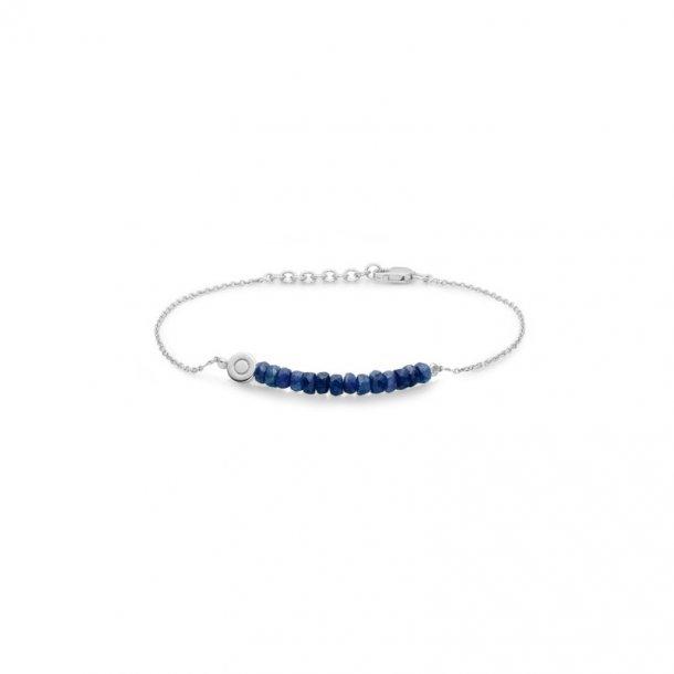 Sølv armbånd med safir - 2154011