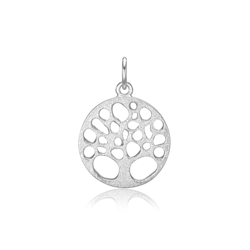 Blicher Fuglsang sølv vedhæng livets træ - 2487-00R