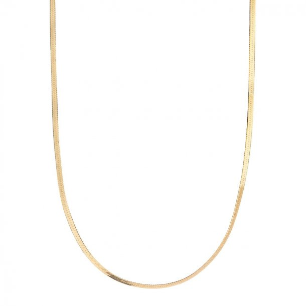Maria Black Mio forgyldt halskæde - 300380YG