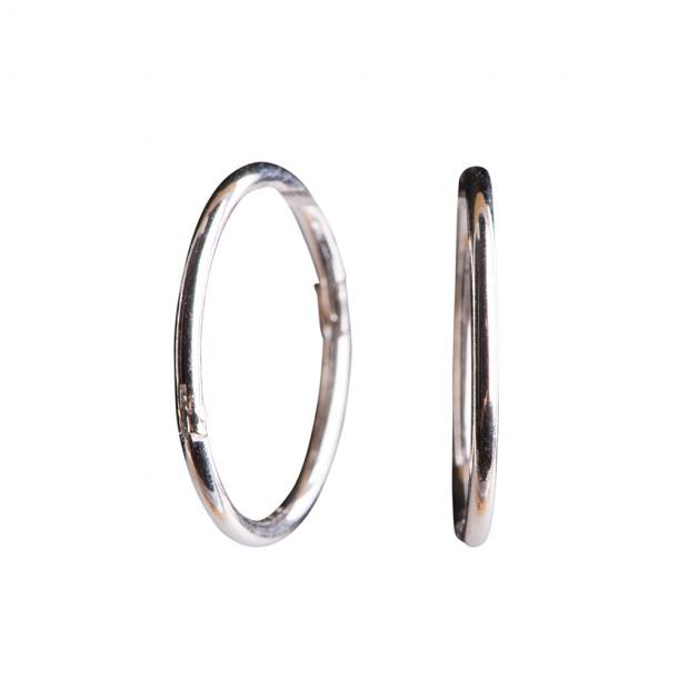 Sølv creol 18 mm - 3108149