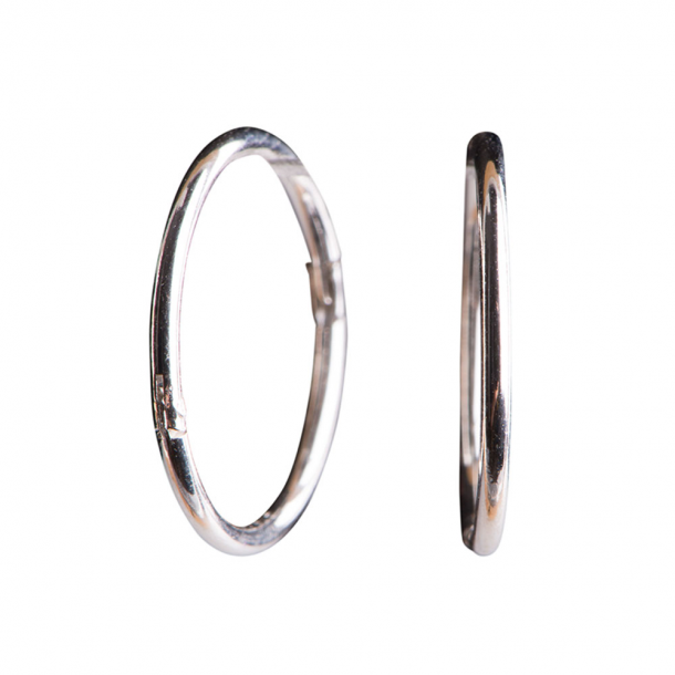 Sølv creol 22 mm - 3108169