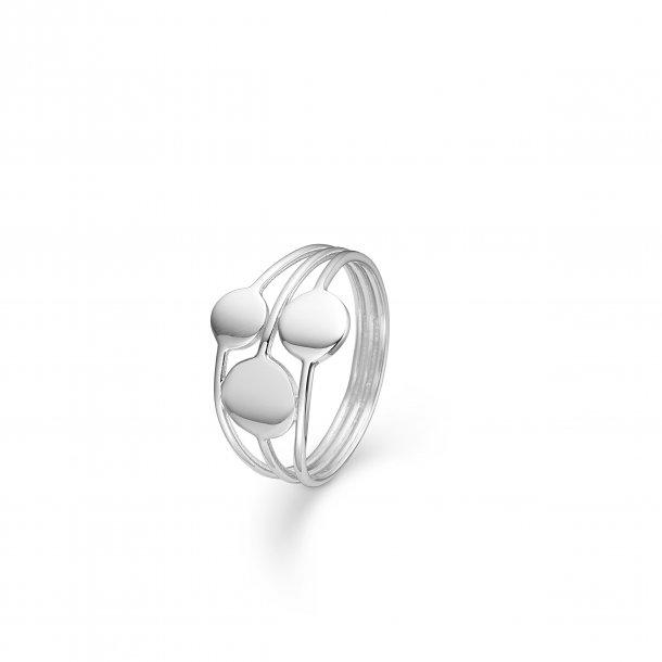 Sølv ring Coins - 3140129