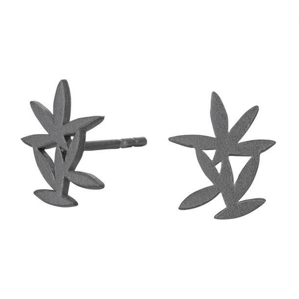 Oxideret sølv ørestikker Mix - 325 637-2