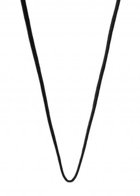 Georg jensen black cord med sølvender - 3530749 fra georg jensen - smykker på brodersen + kobborg