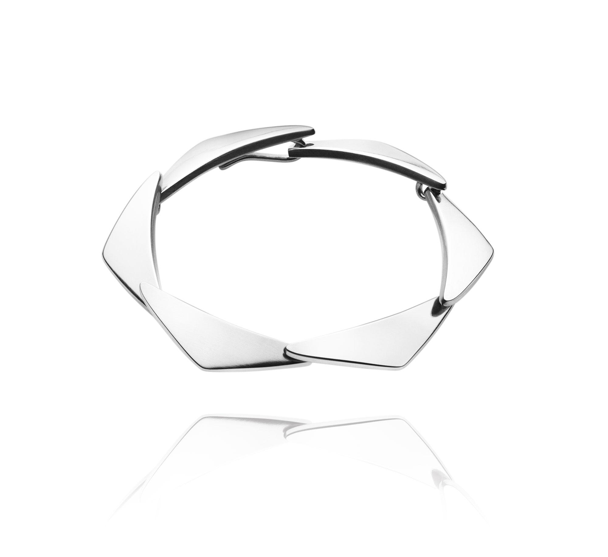 Georg Jensen PEAK armbånd 7 led - 3531257 2000052600SM Sølv SM
