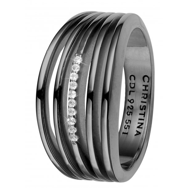 CHRISTINA Open Energy ring - 4.8D