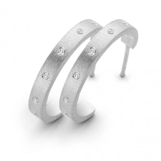 Spirit Icons Raw ørestikkere sølv - 40701