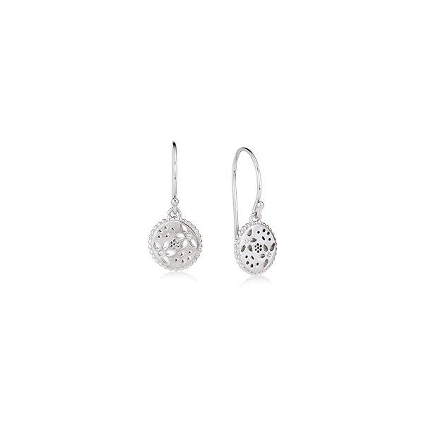 Sølv ørehænger med synt. zirkonia - 4211519