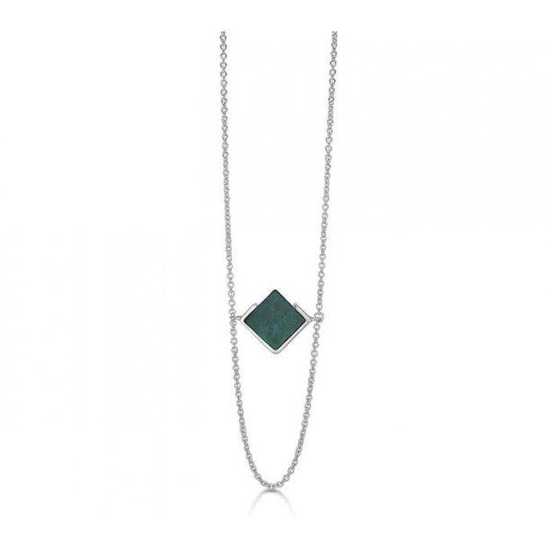 Kranz & Ziegler Rhodineret sølv halssmykke - 4403874-60