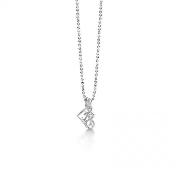 Kranz & Ziegler Sølv halssmykke - 4503844-45