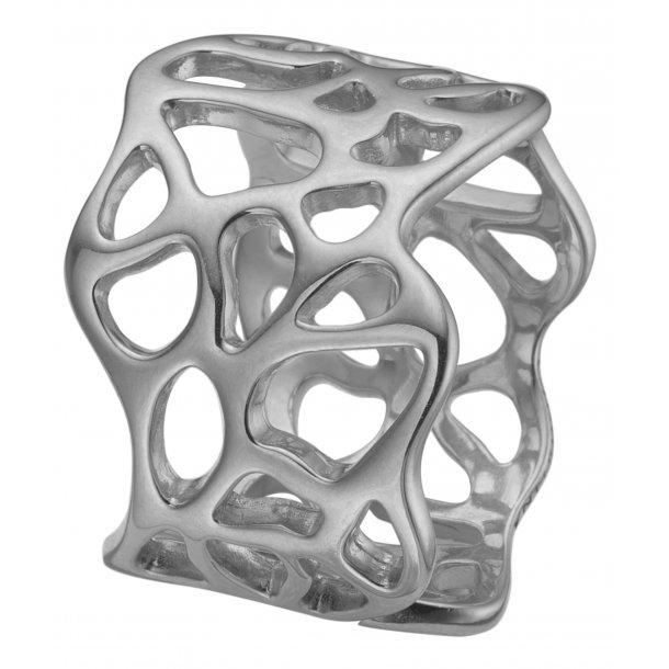 CHRISTINA sølv ring Nature of Light - 5.5A