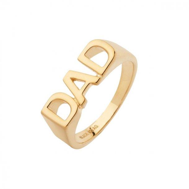 Maria Black DAD ring forgyldt - 500346