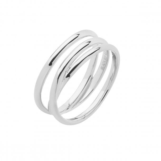 Maria Black Emilie Wrap sølv ring - 500350