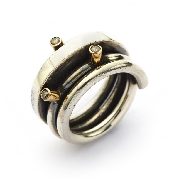 By Birdie Ring Wire polished - 50110013