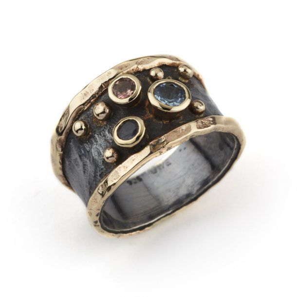 By Birdie Ring Empire Slim Stones - 50110080