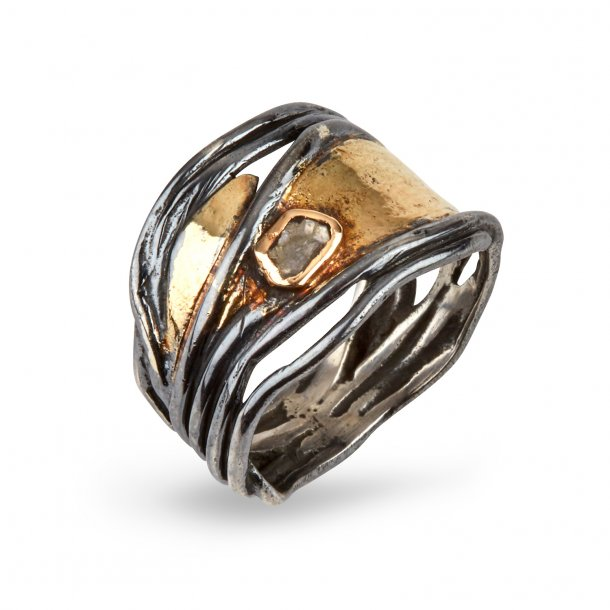 By Birdie Ring Huble Gold - 50110157