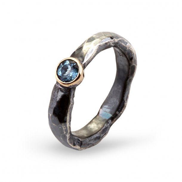 By Birdie Heritage Stone Agua ring - 50110171A