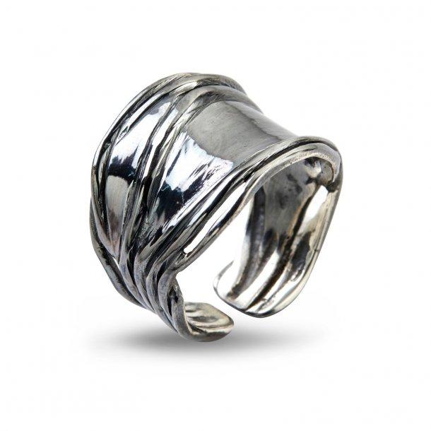 By Birdie Ring Nebula Silver Slim Oxyderet - 50110194