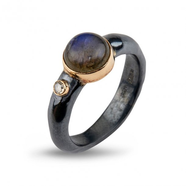 By Birdie Ring Antique Labradorite - 50110204C
