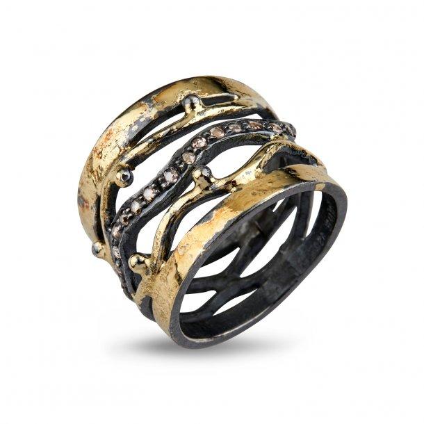 By Birdie benedict Golden ring - 50110207