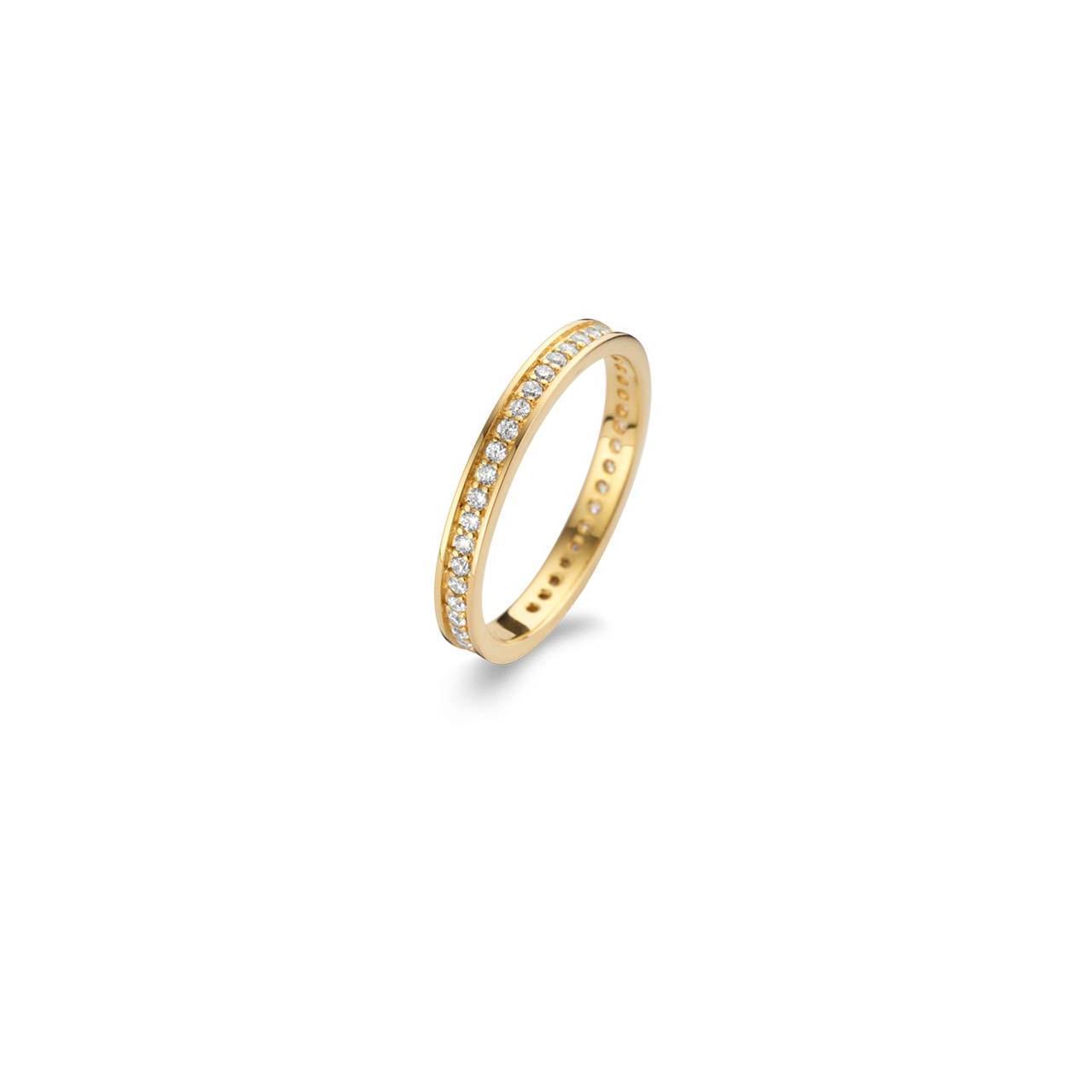 Spirit Icons Chic Ring - 53072 Forgyldt 54