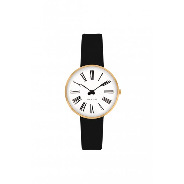 Arne Jacobsen Roman ur 30mm - 53313-1401G